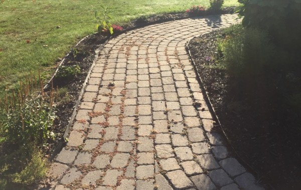 Patio Rebuilds with existing block!