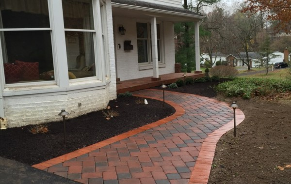 Walkway and Landscape Install